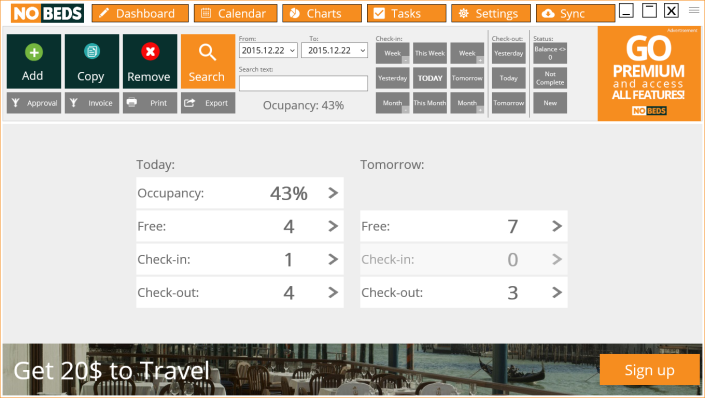 Free hotel management system